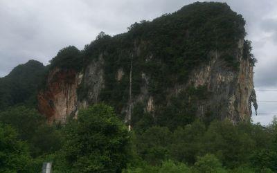 Die Felsenlandschaft von PangNga