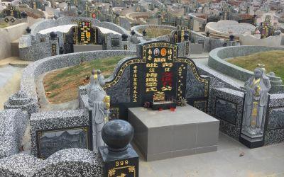 Phantastische chinesische Grabstätten