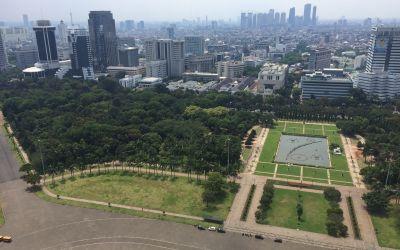 Jakarta von oben
