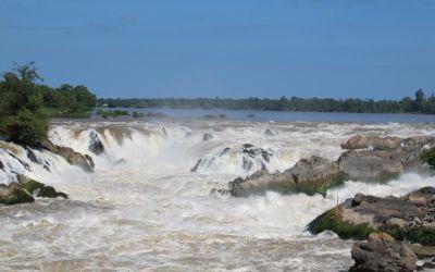 Die Mekong-Fälle - gigantisch