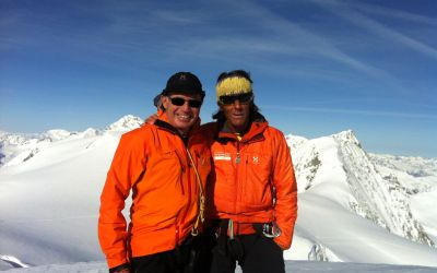 Und im Winter - Haute Route von Zermatt nach Chamonix auf Skiern