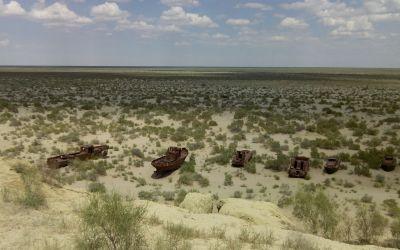 Aral-See, von Andreas, dem MotorradFahrer