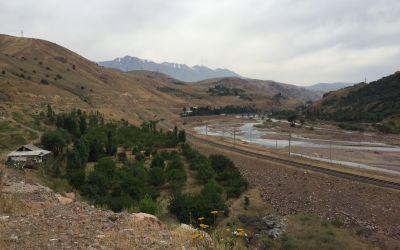 Weg zum Kamchik-Pass
