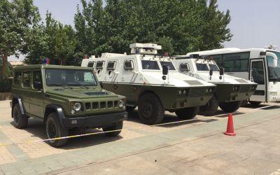Polizei beherrscht die UigurenProvinz Yinjiang