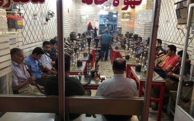 Die Sucht der Iraner, WasserPfeiffen