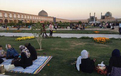 Isfahan, zweitgrösster Platz der Welt