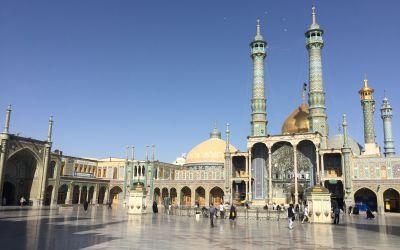 Gedenkstätte für Fatima in Qom