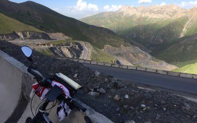 Kirgistan, 115km, 2100 HöhenMeter, bis auf 3650müM/Tag