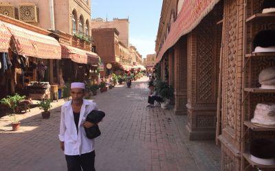 Kashgar, China, Endstation