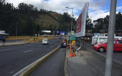 Grenzübergang zu Equador