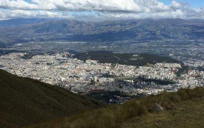 Zentrum von Quito