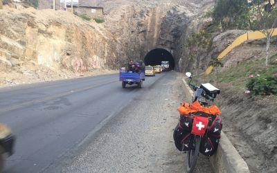 Tunnel? Ein schwarzes Loch