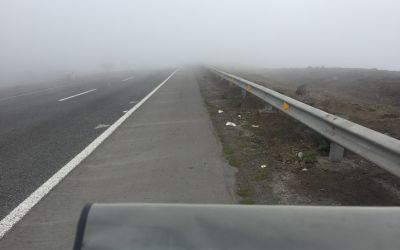 Nebel vom Meer